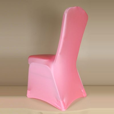 Bubblegum Pink Spandex Chair Cover