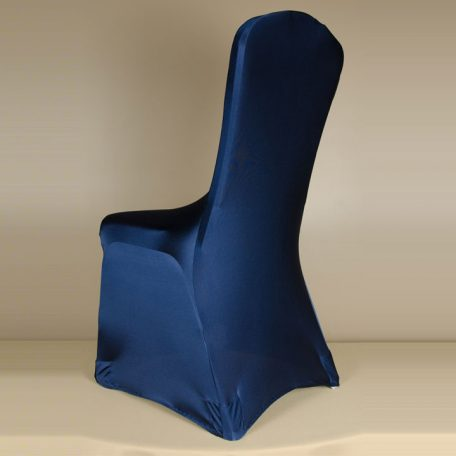 Navy Blue Spandex Chair Cover