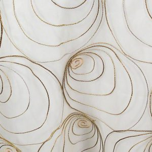 Bronze Spirals Sheer