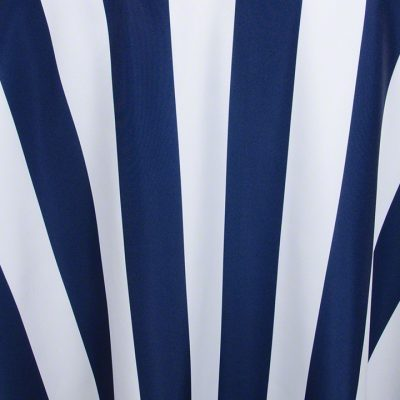 """Navy/White""""Stripe"""