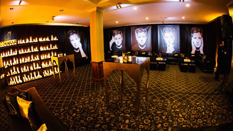 Chernow Bar Mitzvah at Tam O'Shanter Country Club in West Bloomfield, Michigan