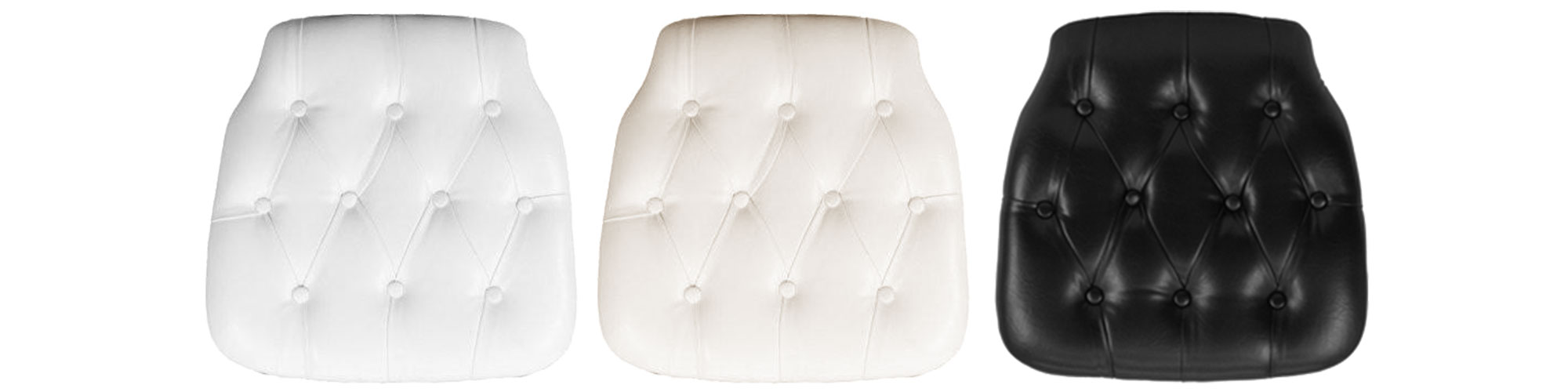 Tufted Chiavari Chair Pads
