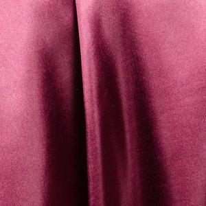 satin burgundy
