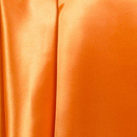 satin pumpkin orange