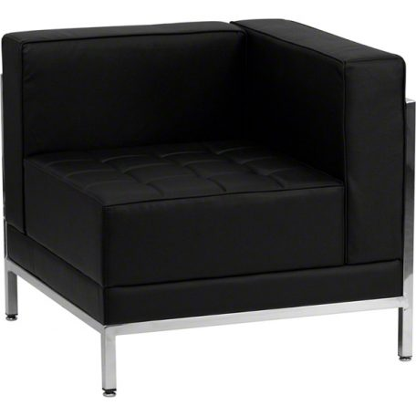 Black Imagination Right Corner Sectional Chair