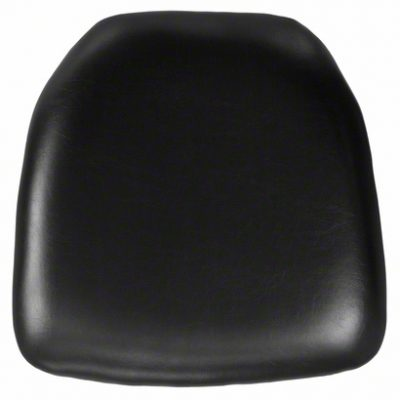 black vinyl chiavari pad