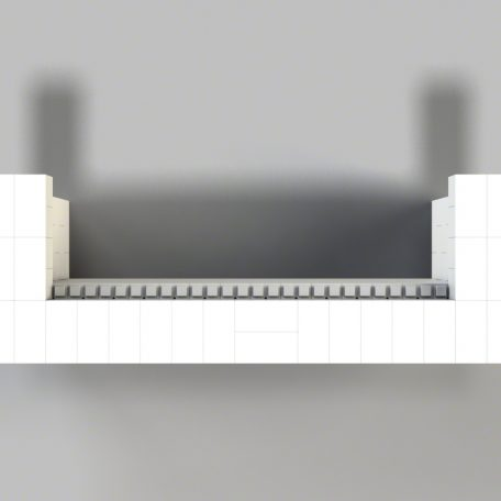 8' Cantilever Bar Top View (Other sizes available)