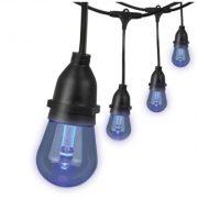 Blue LED Edison Style String Lights