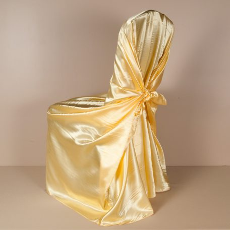 Canary Satin PIllowcase Chair Cover