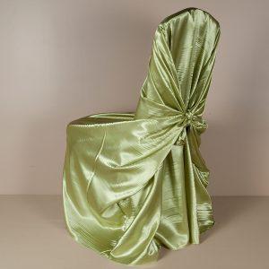 Kiwi Satin Pillowcase Chair Cover