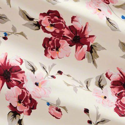 Abigail Floral Shantung