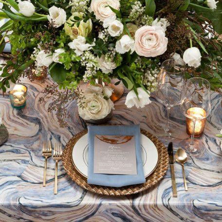Azure Agate Tablescape