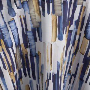 Blue Brushstroke
