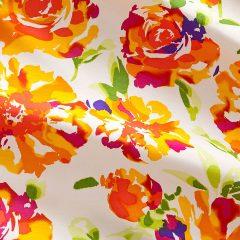 Blumen Shantung