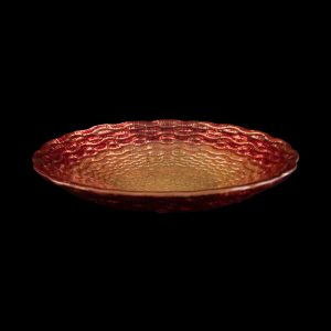 Canyon Sunset Bread and Butter Glass Charger