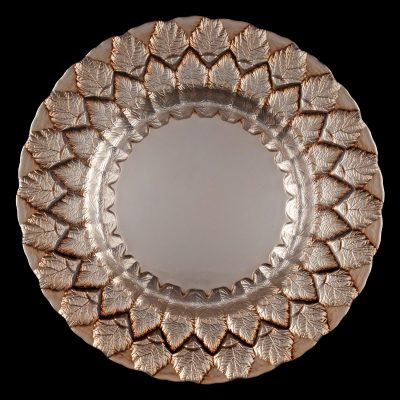 Florence Mocha Glass Charger