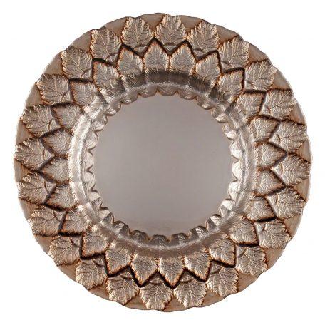 Florence Mocha Glass Charger
