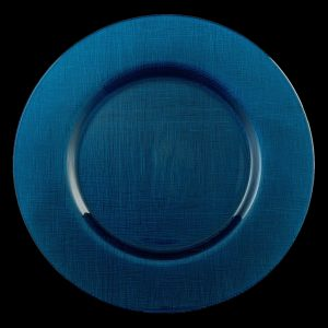 Lino Limoges Blue Glass Charger
