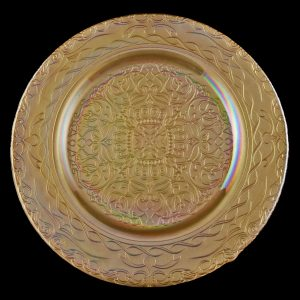 Versailles Gold Glass Charger