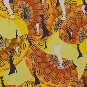 Yellow Mozambique Sheer
