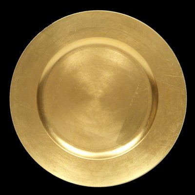 Gold Acrylic Charger Plate