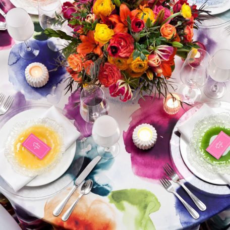 Aquarelle Tablescape