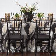 Black Allure Tablescape