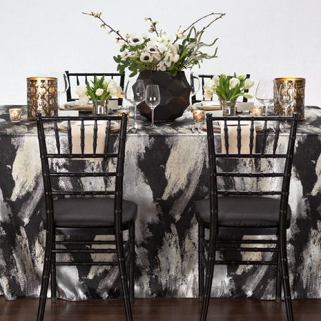 Black Allure Tablescape