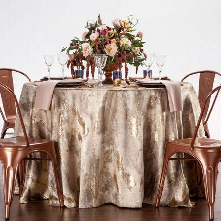 Copper Allure Tablescape