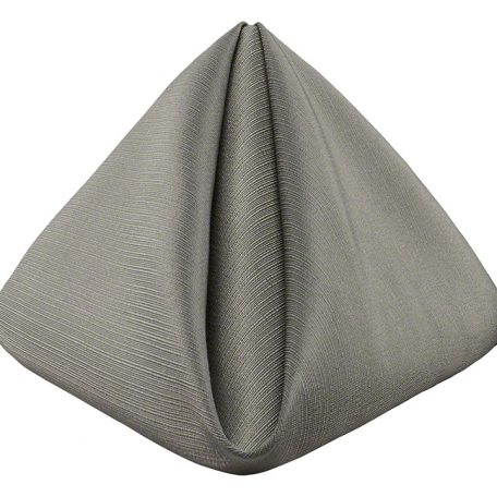 Pewter Faille Dinner Napkin