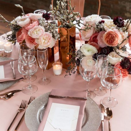 Designer: MMD Events | Photographer: Justin Demutiis Photography | Venue: Armature Works