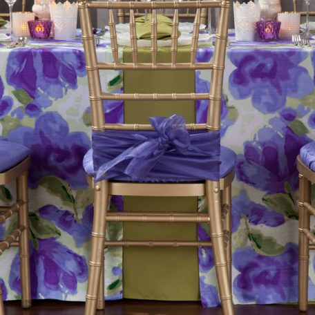 Leaf Twill Tablescape with Giverny Table Runner