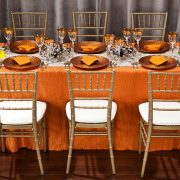 Rent from Fabulous Events, the leader in event linen rentals. We have one of the largest selections of rental table linens, chair covers, napkins & runners.