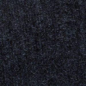 Black Metallic Shag