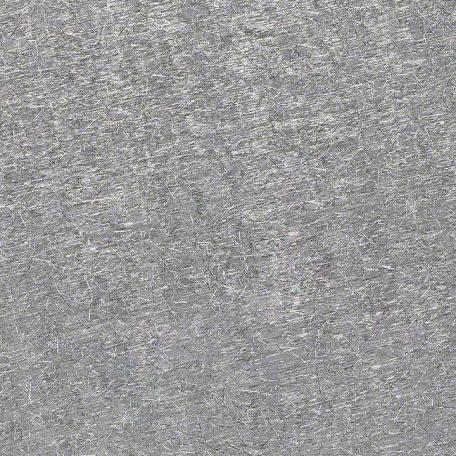 Silver Metallic Shag