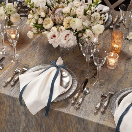 Moonstone Marble Tablescape