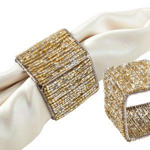 Gold Cornwall Napkin Ring