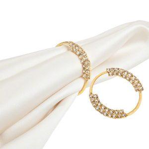 Gold Grace Napkin Ring