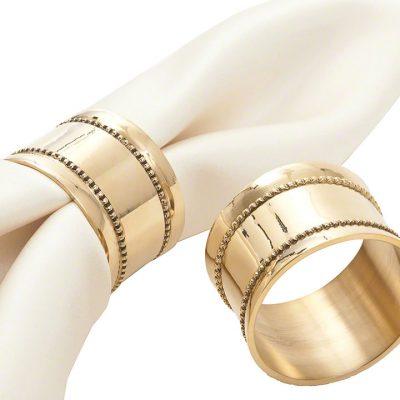 Gold Prescott Napkin Ring
