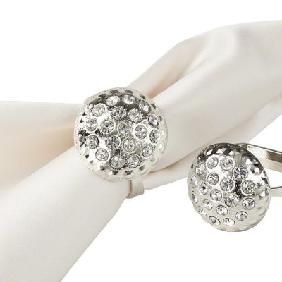 Silver Dome Napkin Ring