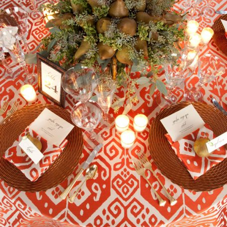 Papaya Mesa Tablescape