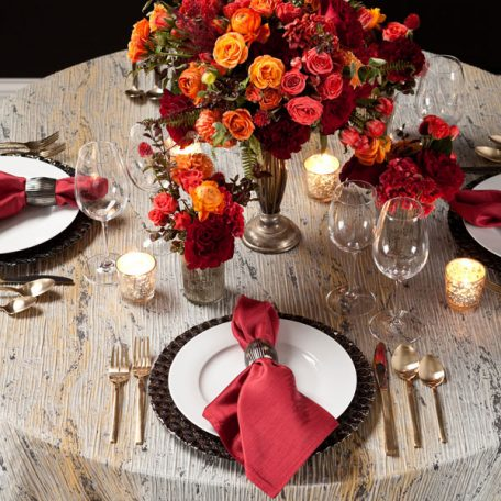Pyrite Marble Tablescape