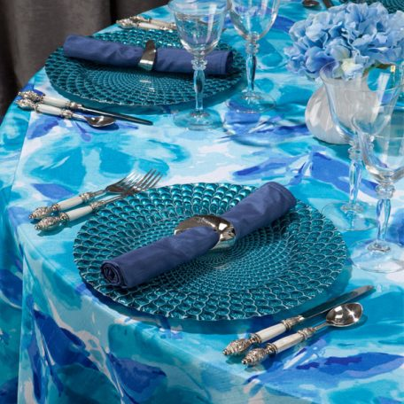 Reflection Shantung Tablescape