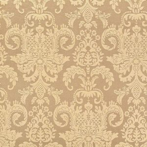 Taupe Regal Damask