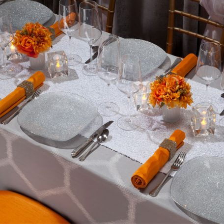 Silver Apiary Tablescape
