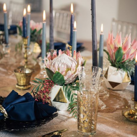 Silver Birch Tablescape