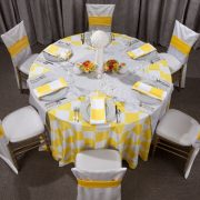 Tablecloth Rental for weddings and special occasions
