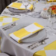 Glass Charger Plate Rental for all types of events