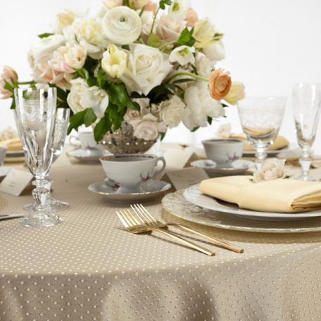 Swiss Dot Tablescape