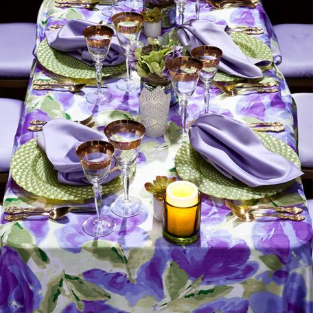 Giverny Tablescape